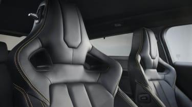Range Rover Evoque Sicilian Yellow Limited Edition sports seats