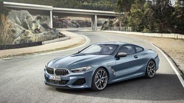 BMW M850i revealed - front quarter static