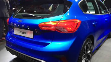 Ford Focus launch - rear