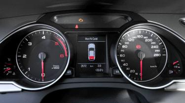 Audi S5 Sportback instruments