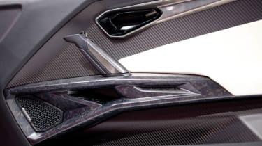 Lamborghini Urus SUV interior door