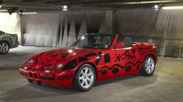 BMW Z1 by A. R. Penck
