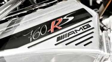 Pagani Zonda 760RS - the most extreme Zonda V12 AMG engine