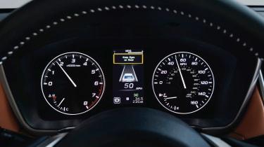 Subaru Legacy - dials