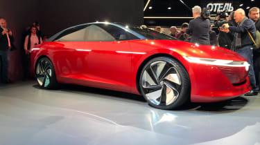 Volkswagen I.D. Vizzion – on stand Geneva
