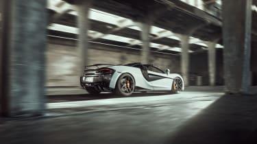 Novitec McLaren 570S Spider – rear quarter