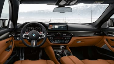 BMW M5 Competition - interior