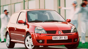 Renault Sport Clio 172 Cup – front quarter