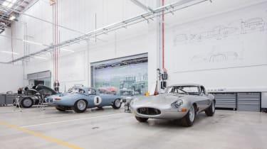 Jaguar Land Rover Classic Works - E-Types 1