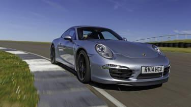 Porsche 911 Carrera on circuit