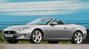 2013 Jaguar XKR Convertible front