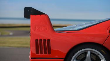 Ferrari F40 LM - wing