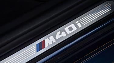 BMW X3 M40i - Kick plate