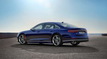 Audi S8 2019 revealed - rear quarter]