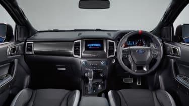 2018 Ford Ranger Raptor  – dash