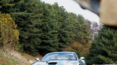 Ferrari 575M Maranello cornering