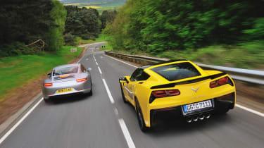 evo Magazine July 2014 - Porsche 911 vs Corvette Stingray