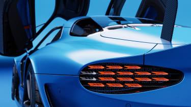 Alpine A110 GTA concept – rear lightAlpine A110 GTA concept –