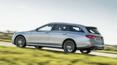 Mercedes E400d Estate review - rear