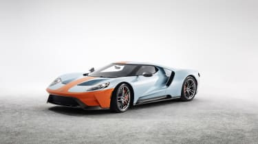 Ford GT heritage edition - front quarter