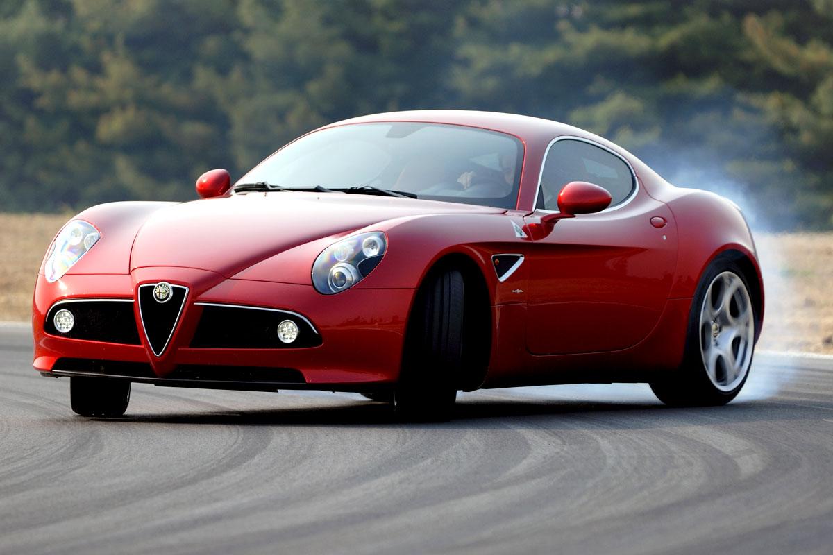 Alfa Romeo 8c Competizione Evo