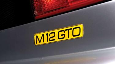 Noble M12 GTO badge