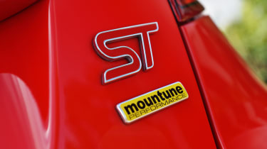 Ford Fiesta ST badge