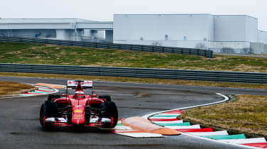 Ferrari testing 2017