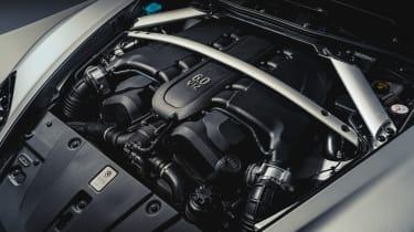 Aston Martin V12 Vantage Zagato R-Reforged engine bay