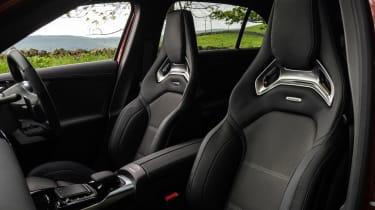 Hot hatchback triple – seats AMG