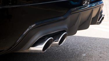 Mercedes-Benz C63 AMG Coupe – exhuast