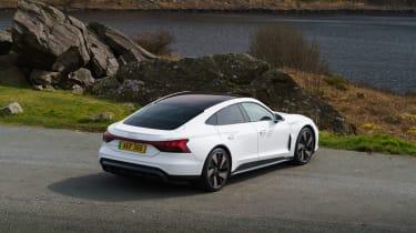 Audi e-tron GT quattro – rear quarter static tall