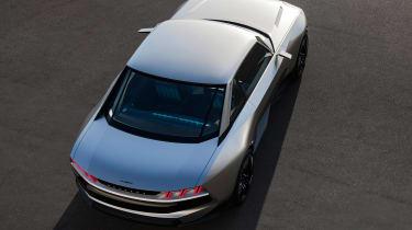 Peugeot e-Legend concept - top