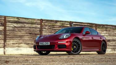 Porsche Panamera S E-Hybrid red front