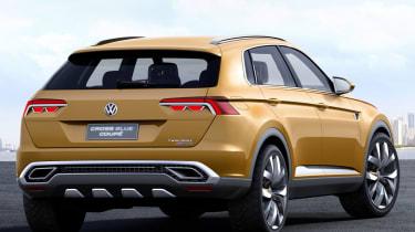VW CrossBlue rear quarter image coupe concept shanghai motorshow