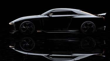 New Nissan GT-R50 by Italdesign prototype profile