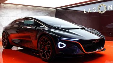 Aston Martin Lagonda Concept – front quarter