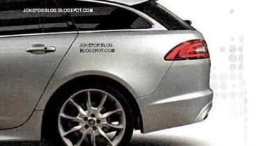 Jaguar XF Sportbrake estate boot