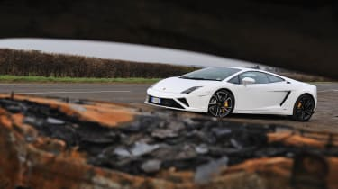 2013 Lamborghini Gallardo LP560-4 white front
