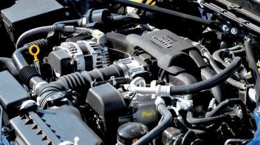Subaru BRZ group test 2-litre boxer engine