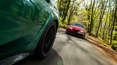 BMW M3 Group from evo 287 – Alfa tracking