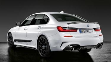 BMW 3-series G20 M Performance parts - rear quarter