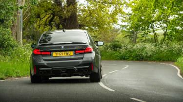 BMW M5 CS – rear