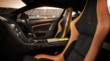 Aston Martin AMR Vantage - V12 front interior