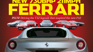 evo issue 169 new Ferrari F12 supercar