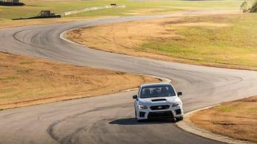 Subaru WRX STI S209 - front track