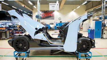 Koenigsegg Agera R in the workshop