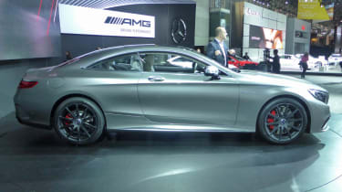 Mercedes S63 AMG Coupe New York show