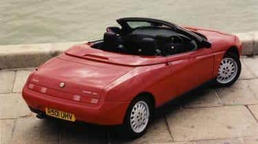 Alfa Romeo Spider - Rear
