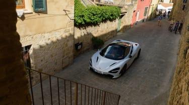 McLaren 720S in Italy - front